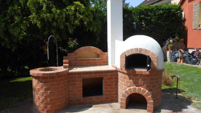Borgácsozó és búbos kemence építése Székesfehérváron