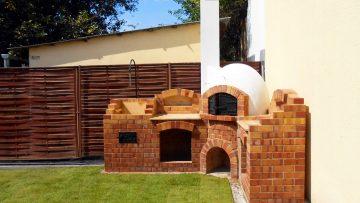Búbos kemence építése bográcsozóval és grillezővel Budapesten