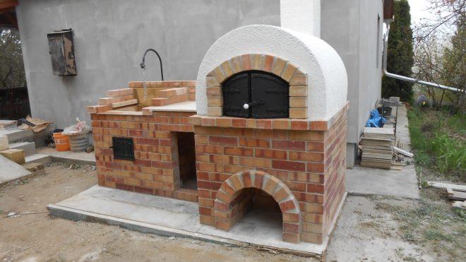 Donga kemence építése Sóskút községben, Pest megyében
