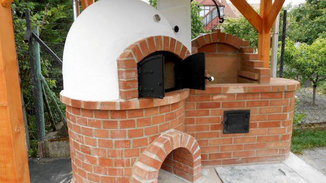 Kemence építése grillezővel Szigetszentmiklós településen