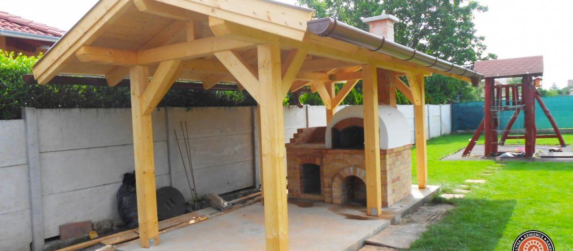 Donga kemence építése Pest megyében Tárnok településen